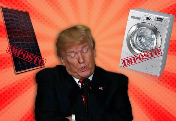 Não se pode elogiar: Trump e o imposto de importação