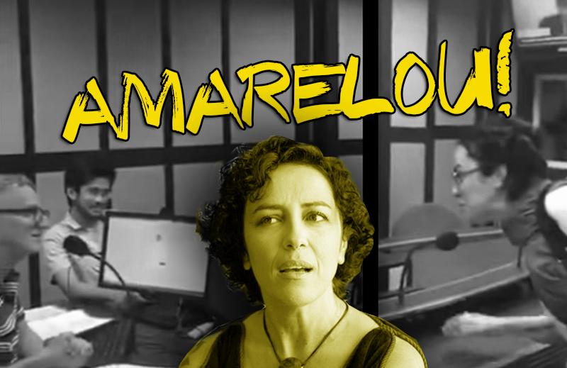 A decadência do politicamente correto: Marcia Tiburi mostrou como age um fascista de fato