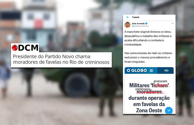 """""""Diário do Centro do Mundo"""" conta mentira sem vergonha sobre João Amoêdo"""