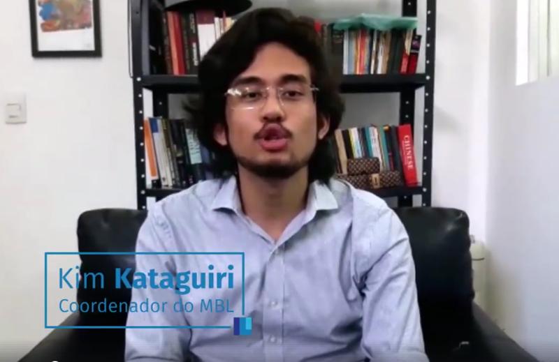 Mensagem de Kim Kataguiri – MBL