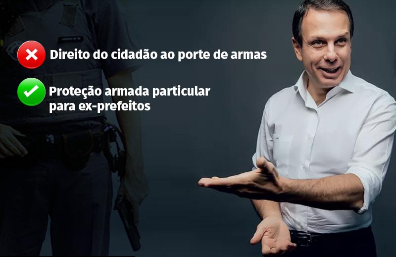 Não, João Doria, é preciso ter mais sensibilidade