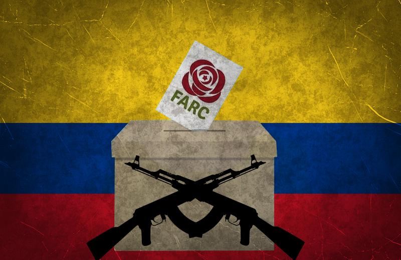 FARC e a farsa da democracia na Colombia