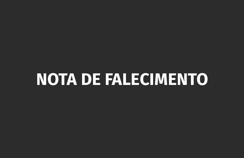 Nota de falecimento – Arthur Chagas Diniz
