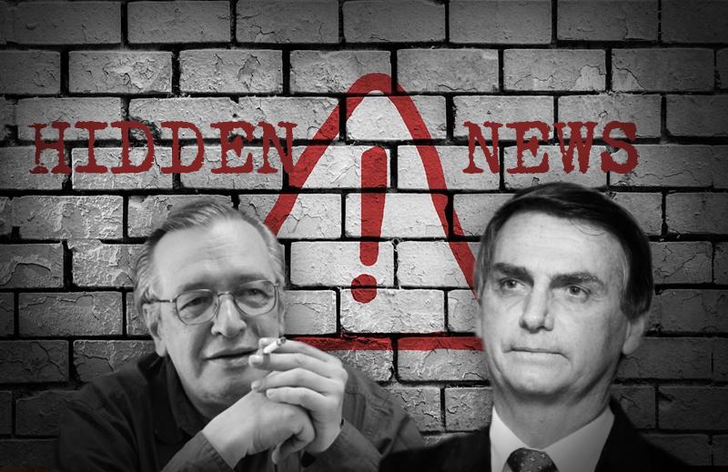 Pior do que a Fake News é a Hidden News: Os Casos de Olavo de Carvalho e Jair Bolsonaro