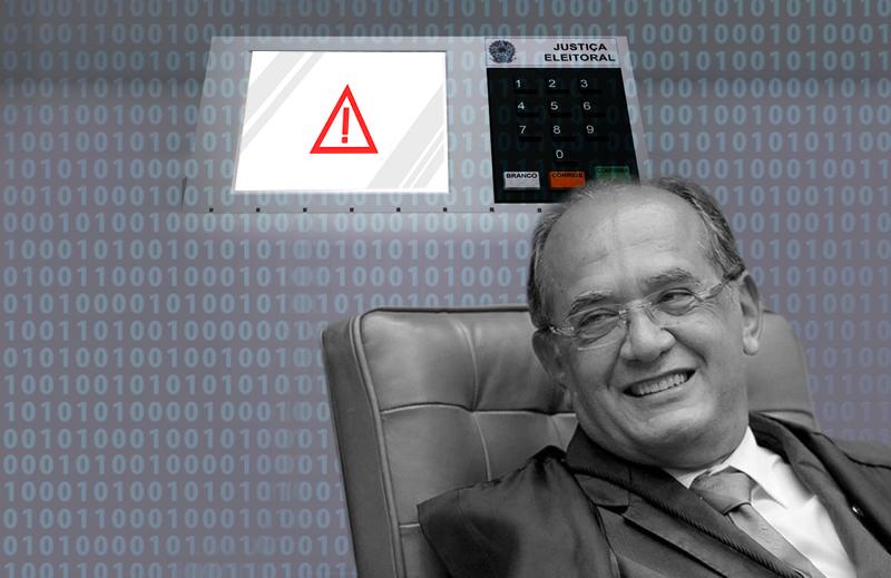 STF e urnas eletrônicas: a incoerência de Gilmar Mendes