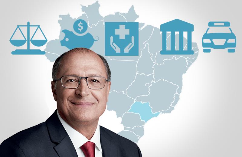 Os trunfos e os asteriscos: Geraldo Alckmin na corrida presidencial