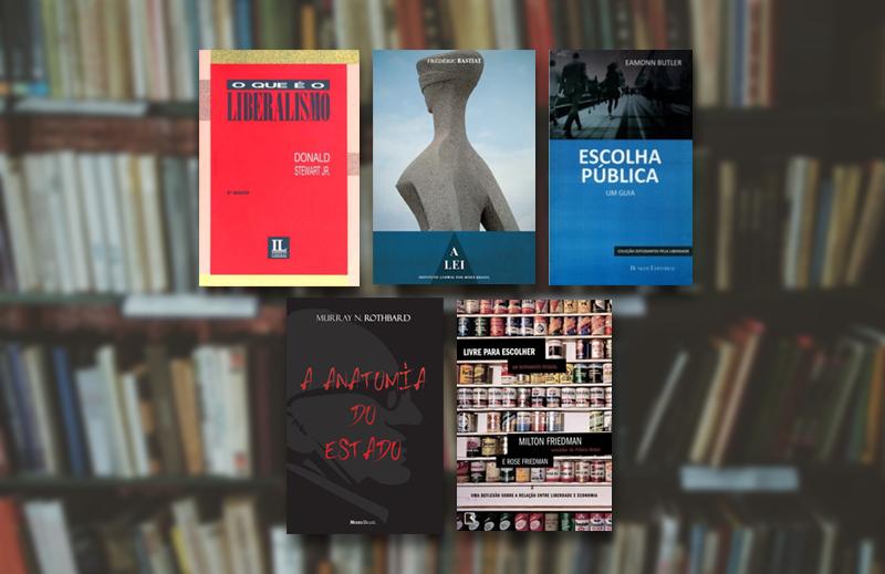 5 livros de introdução às ideias da liberdade