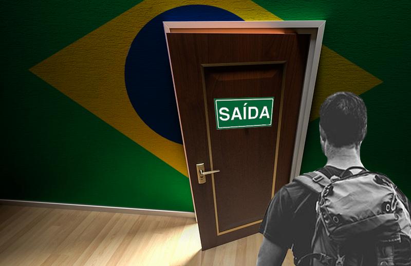 Por que os jovens querem desistir do Brasil?