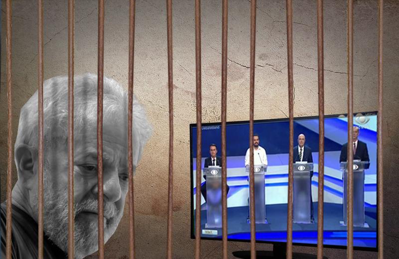 Lula não é candidato, é presidiário!