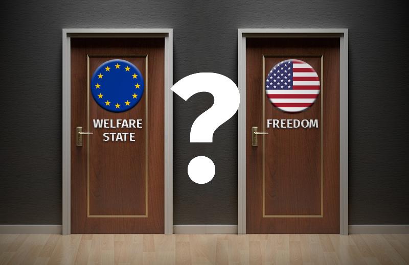"Os imigrantes preferem o ""Estado babá"" ou a liberdade nos Estados Unidos?"