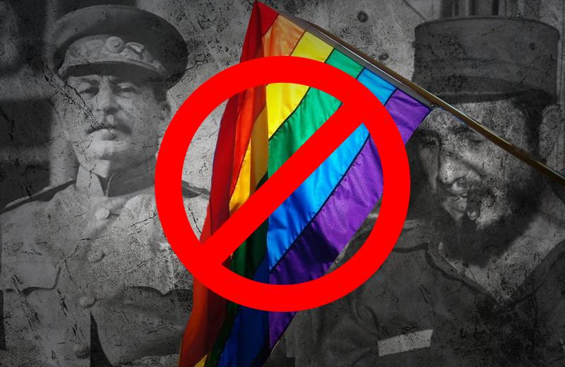 A perseguição aos homossexuais pelos governos socialistas