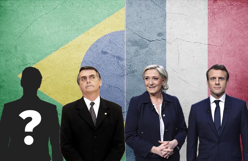 Pode ocorrer no Brasil o mesmo fenômeno ocorrido na última eleição presidencial francesa?