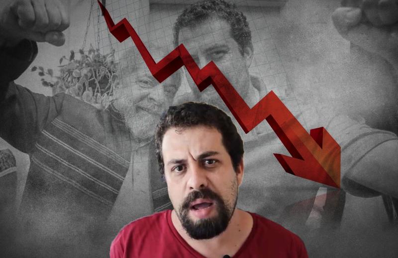 Guilherme Boulos, o pior dos presidenciáveis do PSOL