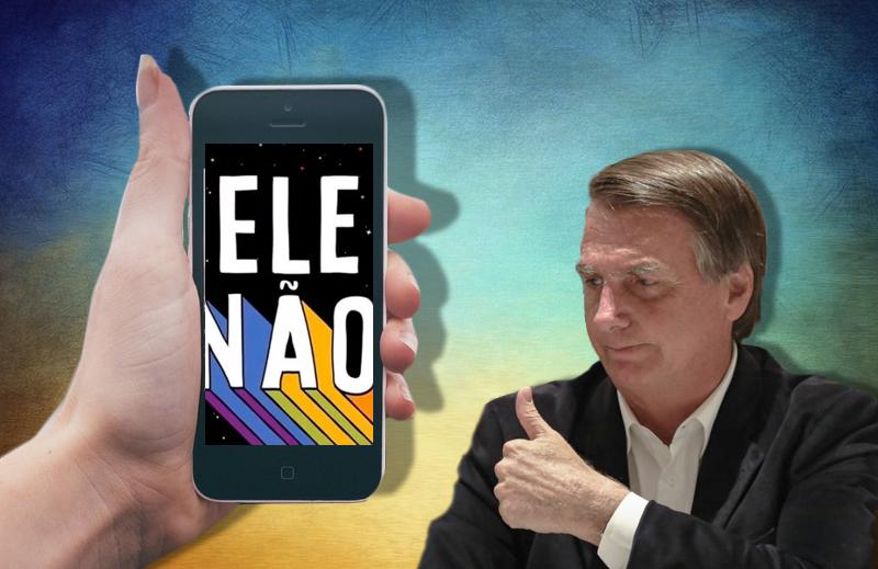 Porque o #EleNão é ineficaz contra Jair Bolsonaro