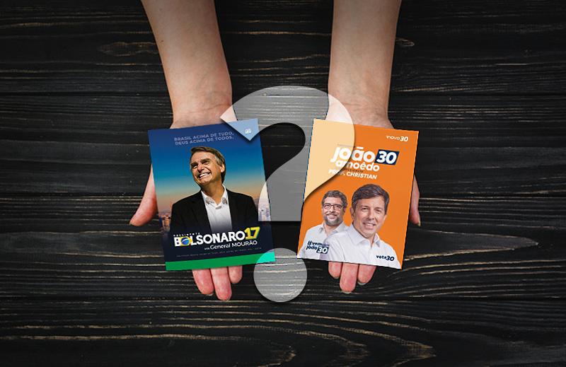 Eleitores de Amoedo deveriam mudar seu voto para Bolsonaro?
