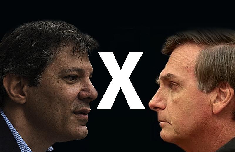 A reação versus o Establishment: Bolsonaro versus Haddad