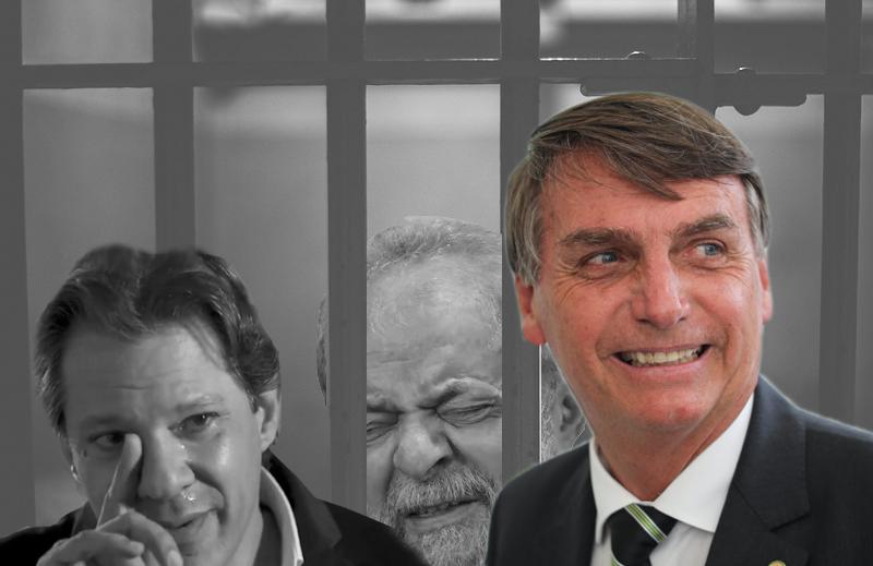 O desespero do PT e o furacão Bolsonaro