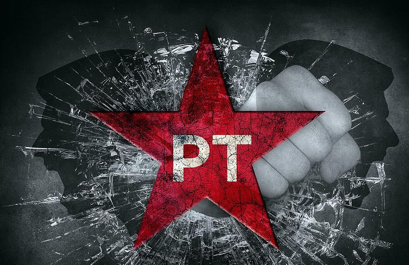 A intolerância do PT
