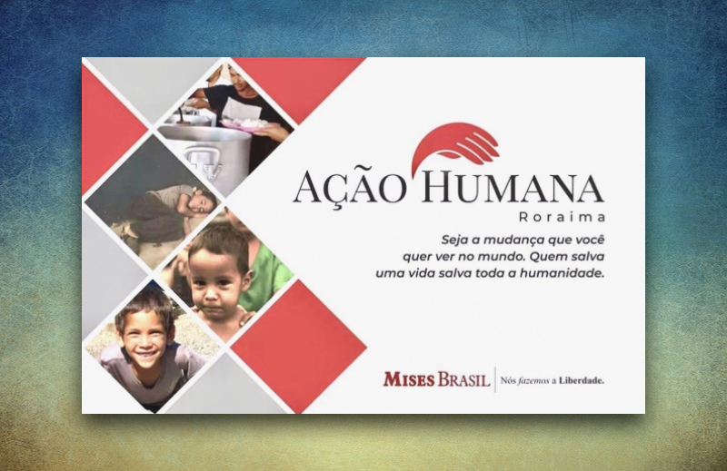 Iniciativa de auxílio aos venezuelanos e roraimenses é belo exemplo dos valores liberais