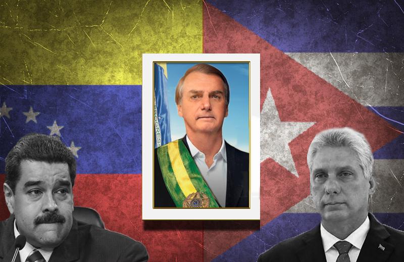 O Brasil deveria convidar os ditadores de Cuba e Venezuela para a posse de Jair Bolsonaro?
