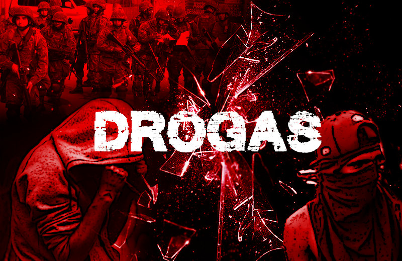 A guerra não é contra as drogas
