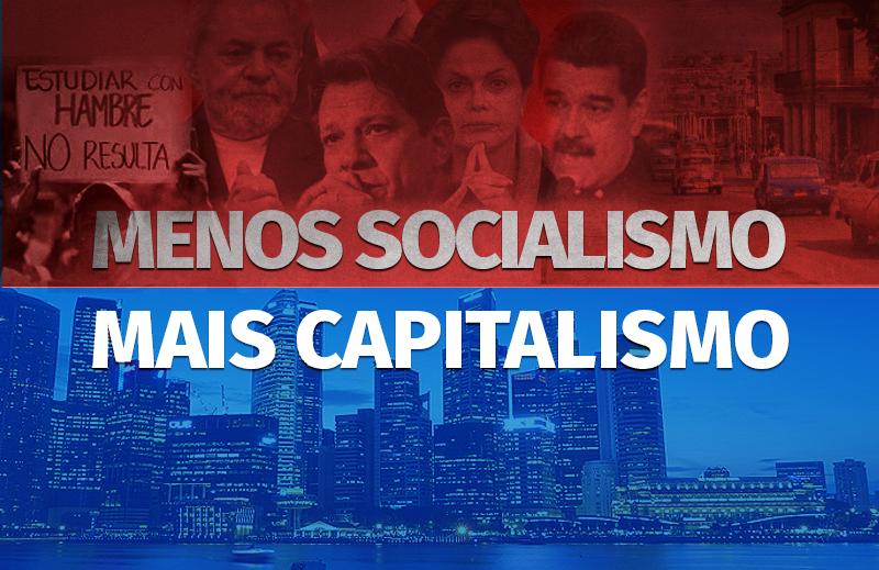 Menos socialismo, mais capitalismo: pela redução da intervenção estatal