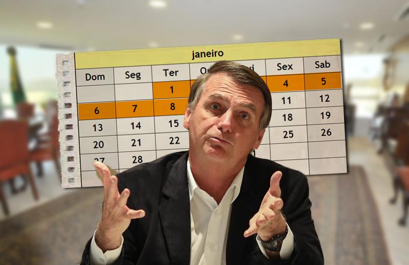 Um dia de cão para Jair Bolsonaro