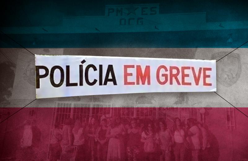 Anistia à PM do Espírito Santo é um convite para novas greves