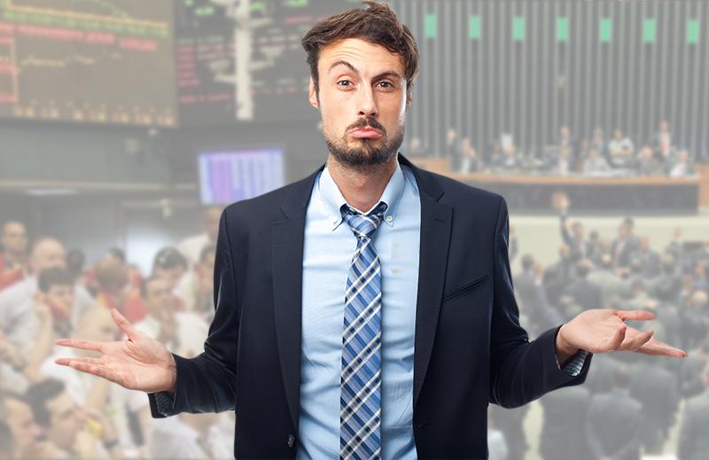 O que você prefere: o mercado ou a política?