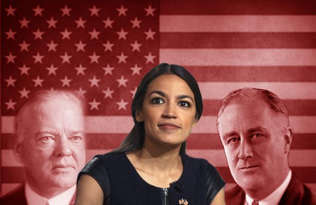 Intervenções estatais nos Estados Unidos e as maluquices da socialista Alexandria Ocasio-Cortez