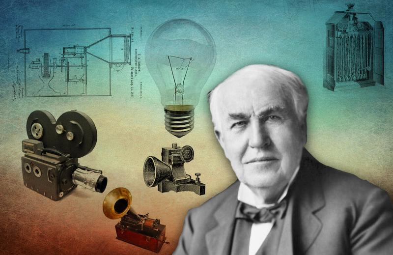 Série Heróis da Liberdade: Thomas Edison