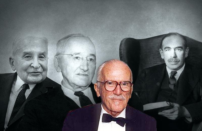 Mises e Hayek contra Keynes – segundo José Osvaldo de Meira Penna