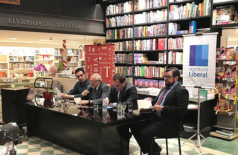 Instituto Liberal co-organiza evento de lançamento de livro sobre Roberto Campos