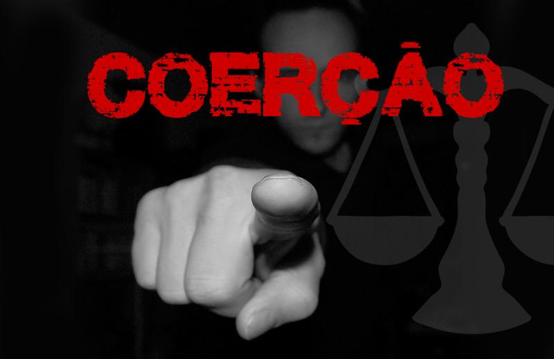 O uso de coerção, o governo e a justiça