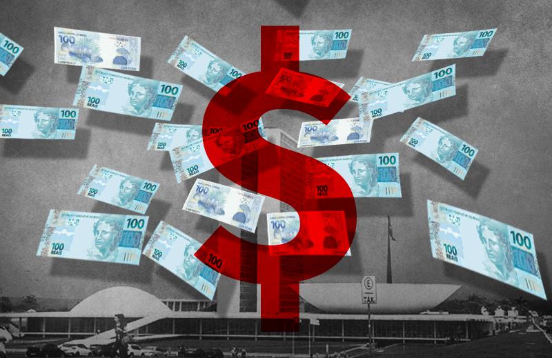 Os gastos com o Congresso Nacional
