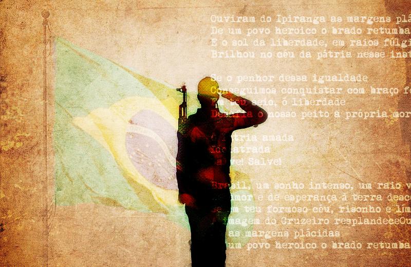 Sobre hinos e patriotismos