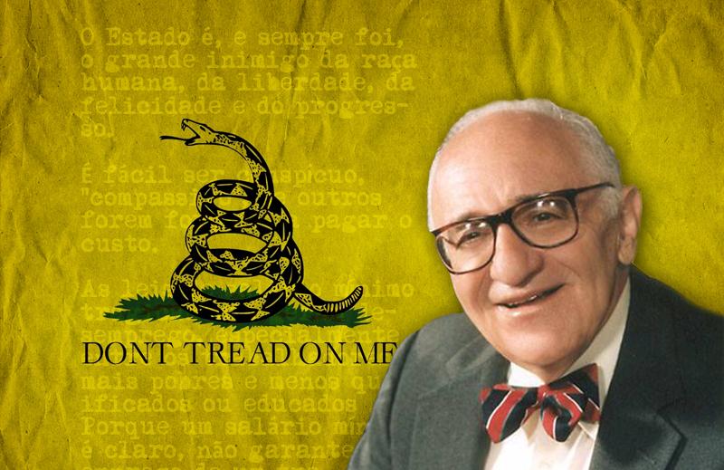 Série Heróis da  Liberdade: Murray Newton Rothbard