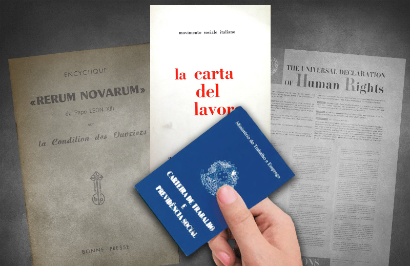 As bases da CLT: Carta del Lavoro ou Rerum Novarum?