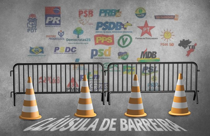 A cláusula de barreira e a redução do cenário partidário brasileiro