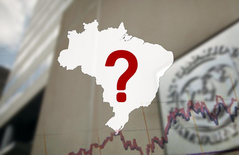 Projeções do FMI para dívida pública no Brasil e em países da América Latina