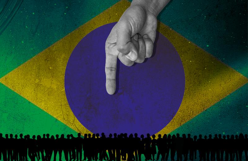 O risco latente do autoritarismo no Brasil