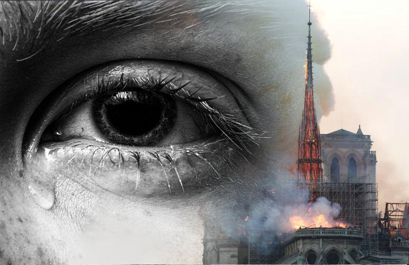 Sobre a doação para a reconstrução da Catedral de Notre-Dame