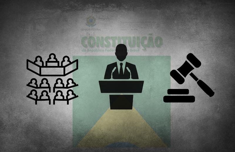 O governo é formado por três poderes e nenhum deles é o mais certo
