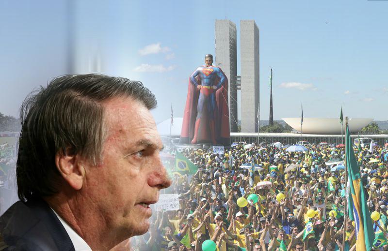 Qual leitura Bolsonaro deveria fazer das manifestações de domingo?
