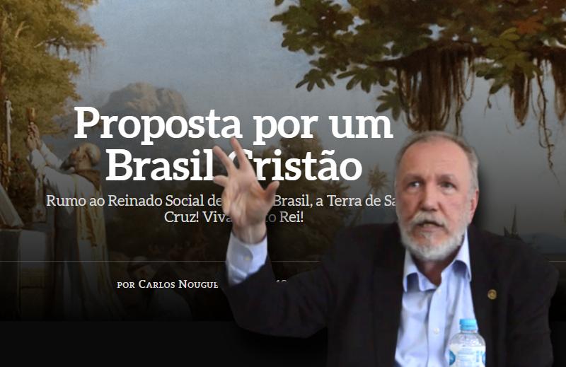 De volta ao Estado católico de Carlos Nougué