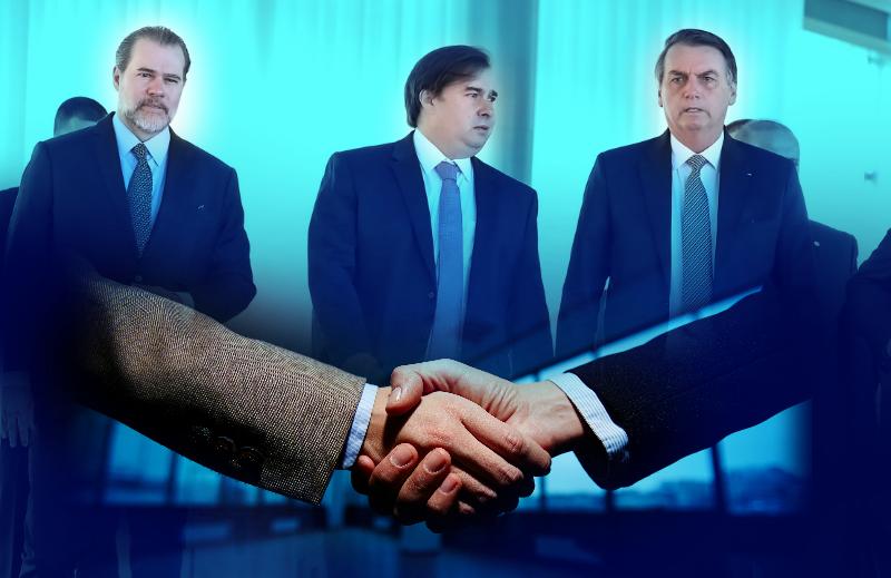 Reação de juízes ao pacto de governabilidade