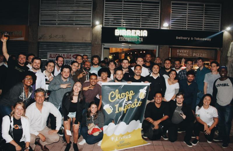 Instituto Liberal apoiou realização do Chopp Sem Imposto