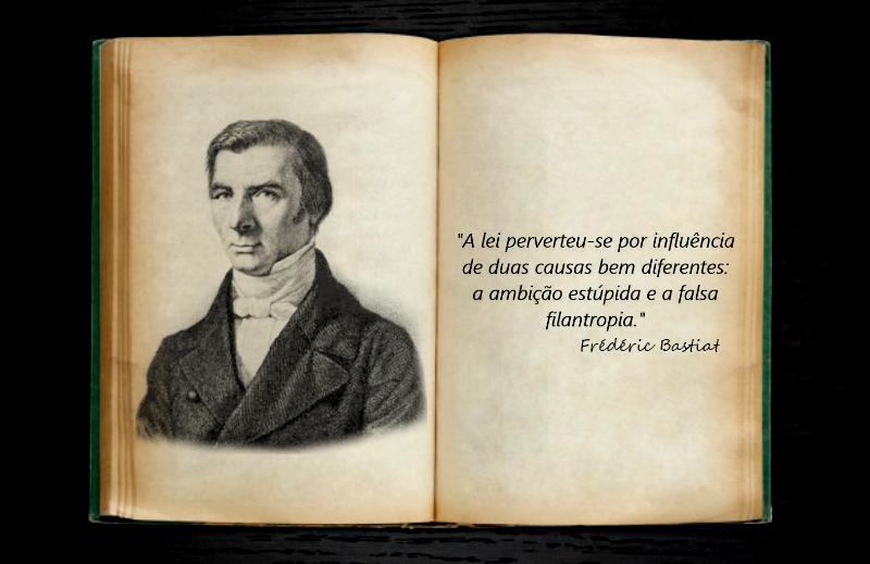 Série Heróis da Liberdade: Claude Frédéric Bastiat
