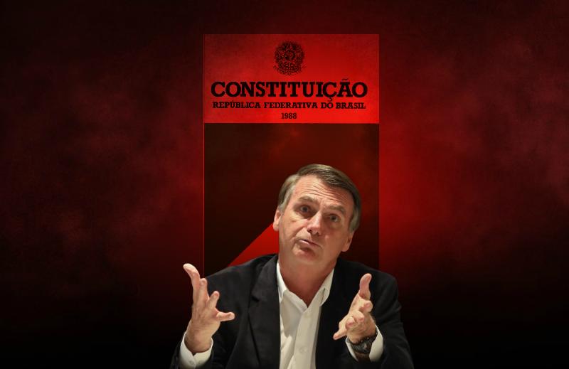 """E o """"aparelhamento"""" da Constituição, Presidente Bolsonaro?"""