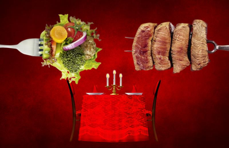 Entenda a diferença entre a esquerda carnívora e a vegetariana